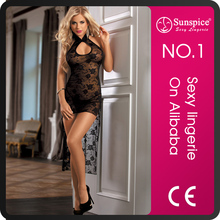 High quality sexy silk nighties for plus size women sexy nighty design babydoll backless dress