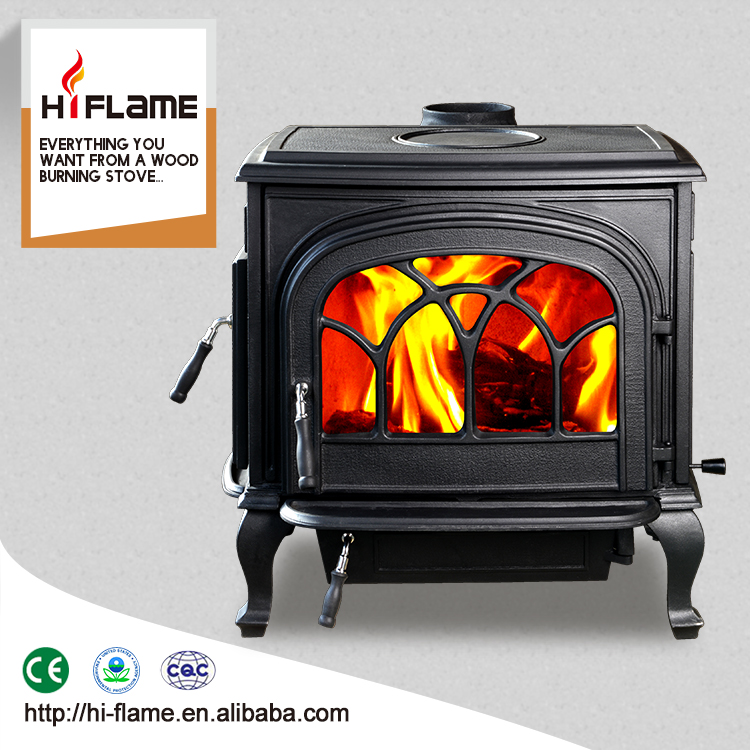 Classical cast iron wood stove with double doors HF737U