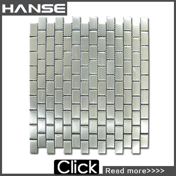 LS014 metal mosaic/ metal backsplash/ industrial metal floor tiles