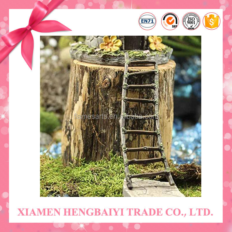 Garden Decoration Of Fairy Stairs Garden Twig Ladder