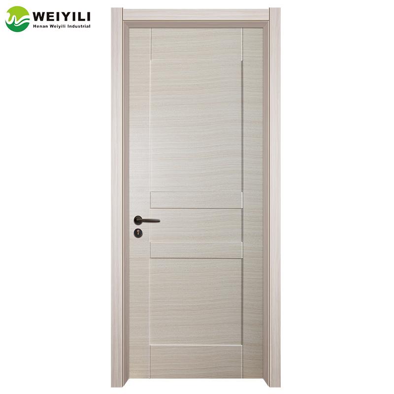 Pvc Door With Wpc Door Frame For Interior House Design - Buy Wpc ...