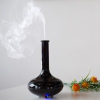 2014 piano black aroma air humidifier/perfume bottle