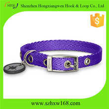 UNIQUE comfortable nylon dog led collar