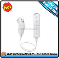 Hot sale Rmote and Nunchuck Controller for Wii Wii U console