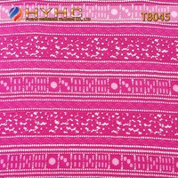 Wholesale Good Quality Polyester Strand Lace Fabric T8045