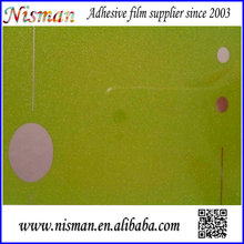 eco-friendly kitchen cabinet decorative film factory glass vinyl film for cabinet