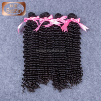 Natural Color Black 100% Brazilian Virgin Human Hair Drawstring Ponytail Hair Extension