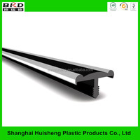 T molding extrusion pvc profile edge for led strip