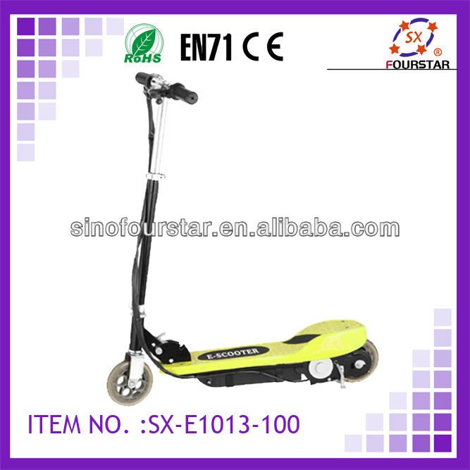 electric scooter for kids with new swing arm and full suspension design