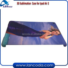 High quality 3D sublimation cover for ipad Air2/ipad 6,3d sublimation case cover,sublimation cover for tablet