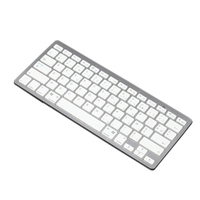 2016 Hot sell Items White Mini Wireless Bluetooth Keyboard for Ipad