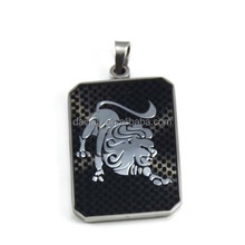 Guangzhou Daimily 12 Zodiac Signs Jewelry Stainless Steel Leo Pendant