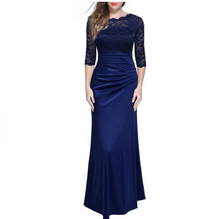 Dress Women Ladies Maxi Embroidered Chiffon Ball Gowntube Prom Princess Bridesmaid Long Formal Dress First Communion Party Dress