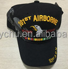 logo 101st AIRBORME with the eagle design embroidered baseball cap