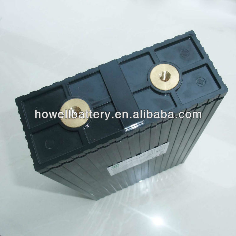 Powerful light weight lifepo4 3.2 volt solar batteries 100ah