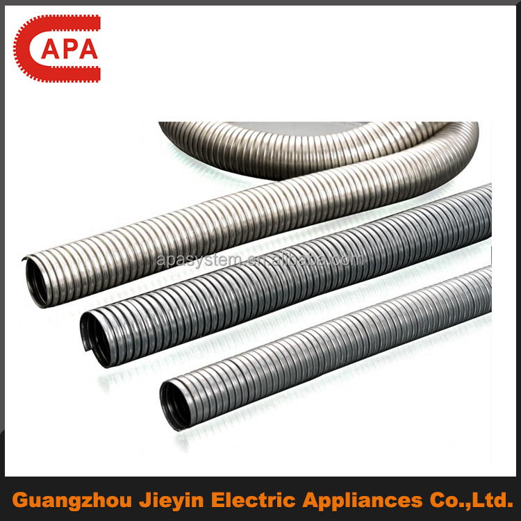 Galvanized Metal flexible conduit/hose/pipe/tube in Guangzhou(AT706)