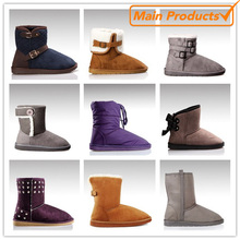 cheap casual cheap winter snow boot for woman