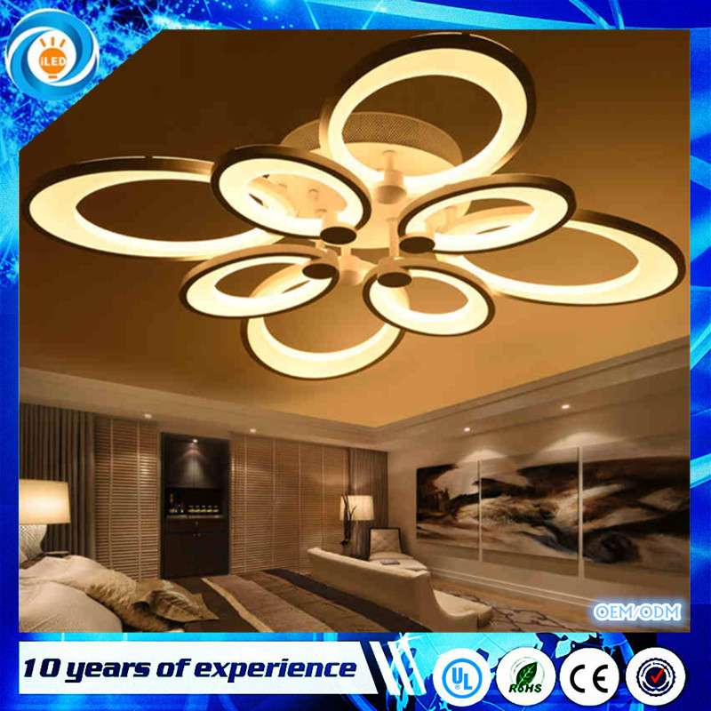 Remote control dimming led ceiling lights lamp for living room bedroom Acrylic modern led ceiling lamps lighting fixture