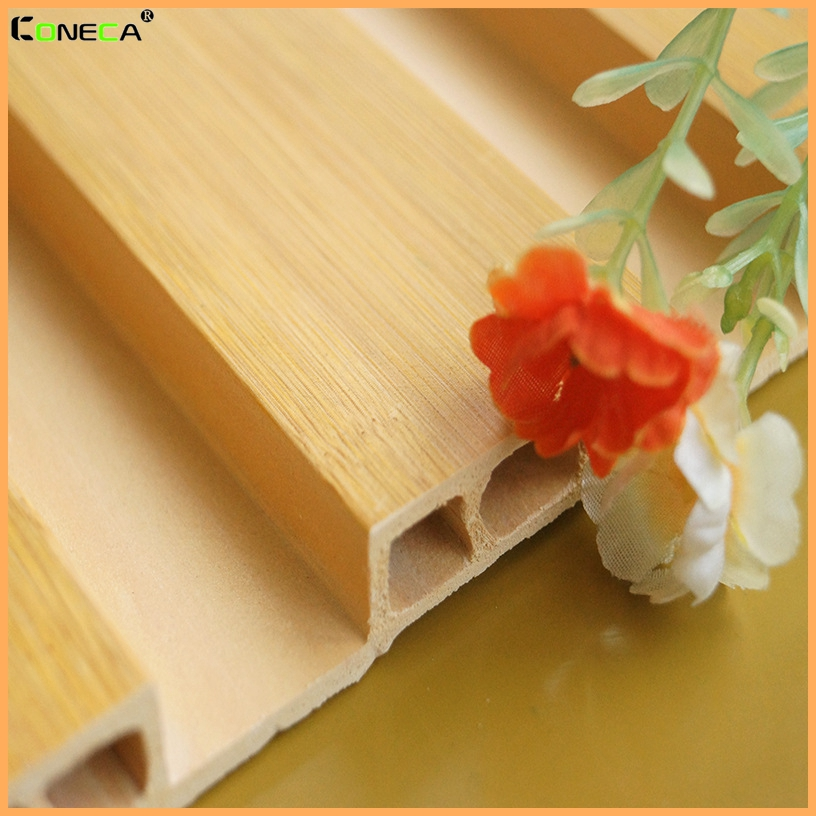 Hot sale!! WPC wall board interior decoration wall wood plastic composite WPC wall paneling
