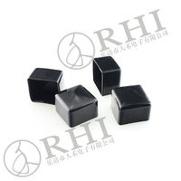 pvc end caps for square tubes / plastic end caps for square pipes