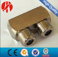 f type rf connector,90 degree pin RF connector for cable/180 degree pin RF connector,Antenna cable RF connector/Grass KS-F RF