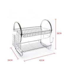 Kitchen Wall Dish Racks 304 Stainless Steel Dish Rack