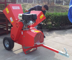 Gasoline Mobile Atv Wood Crusher Chipper Shredder For Sale