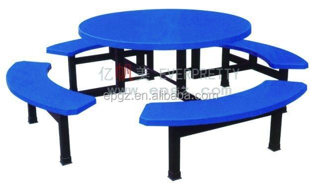 Moderner Speisesaal Runde Tische Und Stühle Für Schule