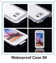 High Quality Shockproof Waterproof Phone Case Cover Pouch Underwater Dry Bag for Samsung Galaxy S6 / S6 Edge