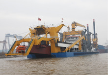 Electric Cutter Suction Dredger Type cutter suction mud dredger
