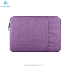Custom neoprene Sturdy nylon laptop sleeve with 15.6 inch