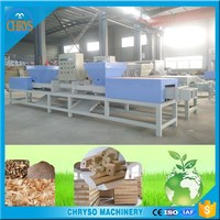 china best Good performance Automatic wood chips sawdust block making machine