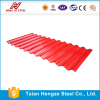 Color corrugated steel sheet for roofing panel FORM HENGZE STELL