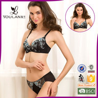 Low Price China Wholesale Clothing Hot Sexi Girl Wear Bra Panty Set