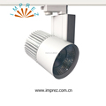 aluminium die-casting no flicker CRI>90 50W cob led track light for commercial projects with 5 years