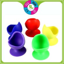 best selling FDA approved novelty customer single silicone egg cup holders with high quality