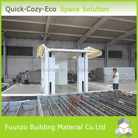 Eco-friendly Stackable Foldable Construction Stable House