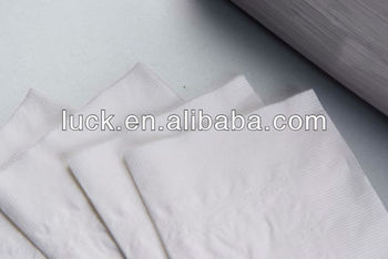 Virgin bamboo sugarcane white color serviette paper napkin