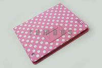 Polka Dots Wave Point Flip Leather Smart Case for ipad 2 3 4