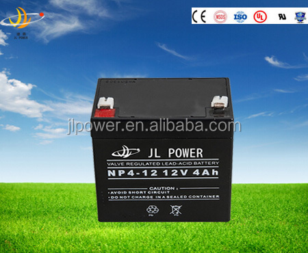 High capacity battery rechargeable storage battery 12v 4ah storage battery/vrla lead acid battery/solar exide batery