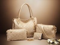 Female package 2017 new one shoulder aslant steamed stuffed bun female bag bag combination bag