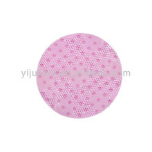 round color changing bath mat