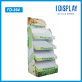 Fashion design Cardboard floor display rack for pillows