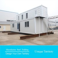 efficient modern modular container houses for travelling site