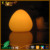 Peach shaped make clear glowing LED light table lamp