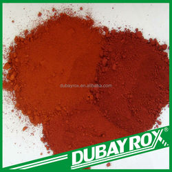 Free Sample Iron Oxide Red Synthetic Polvo for Oxidized Bitumen