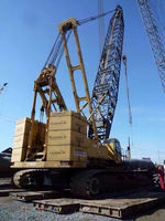 used 250ton original Japan Kobelco CKE2500 Crawler crane for sale
