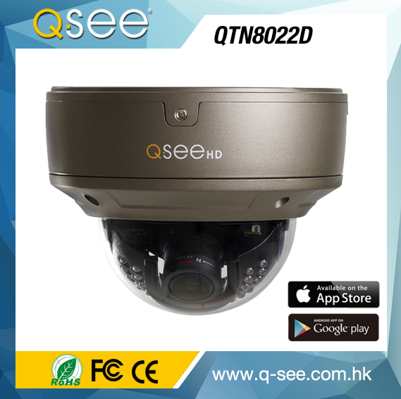 USA branded high quality CCTV IP camera with sony sensor Varifocal lens expert IP camera QTN8022D with POE