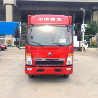 Sinotruk HOWO 4*2 light van truck