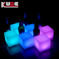 CE certification hot sale 10cm led cube decoration glowing cube